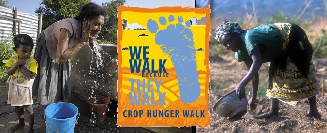 We Walk Because They Walk for Water and Food